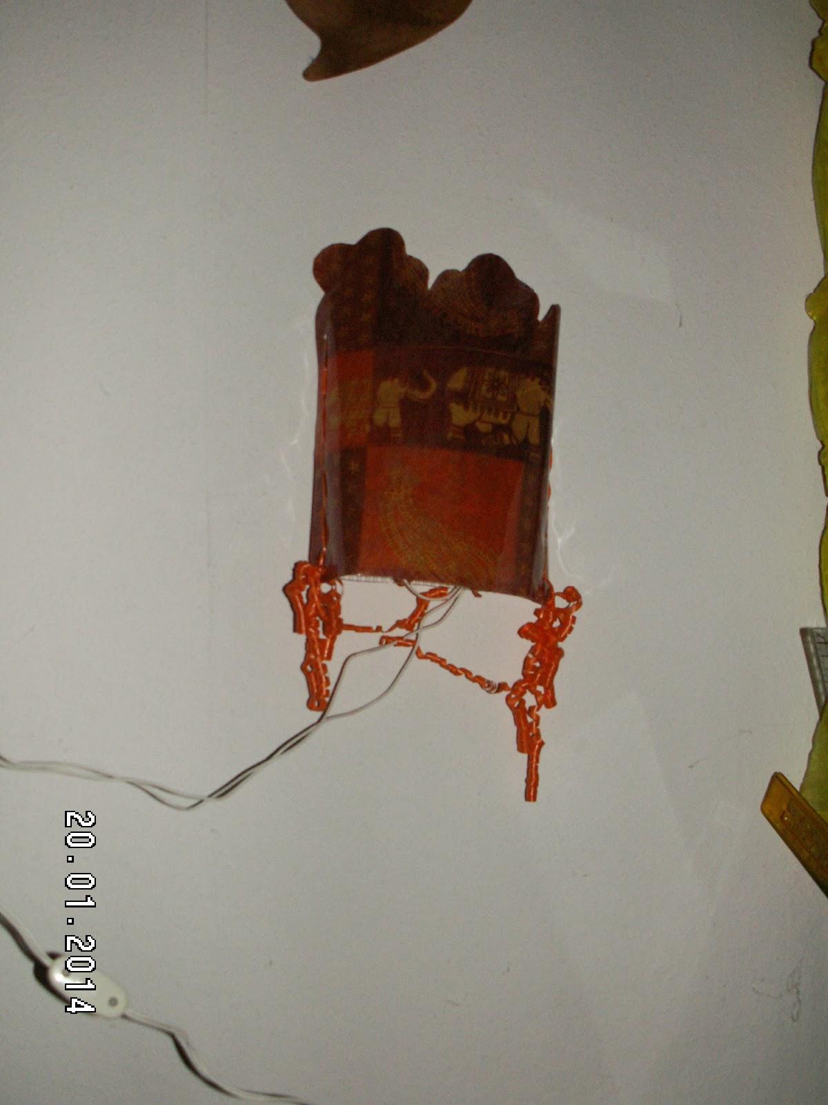 Nadeltwister wandlampe basteln - Locher in der wand stopfen ...