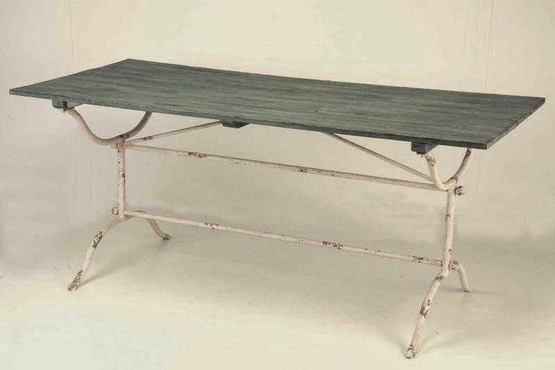 mesa forja y madera, mesa rustica forja, mesa madera salon