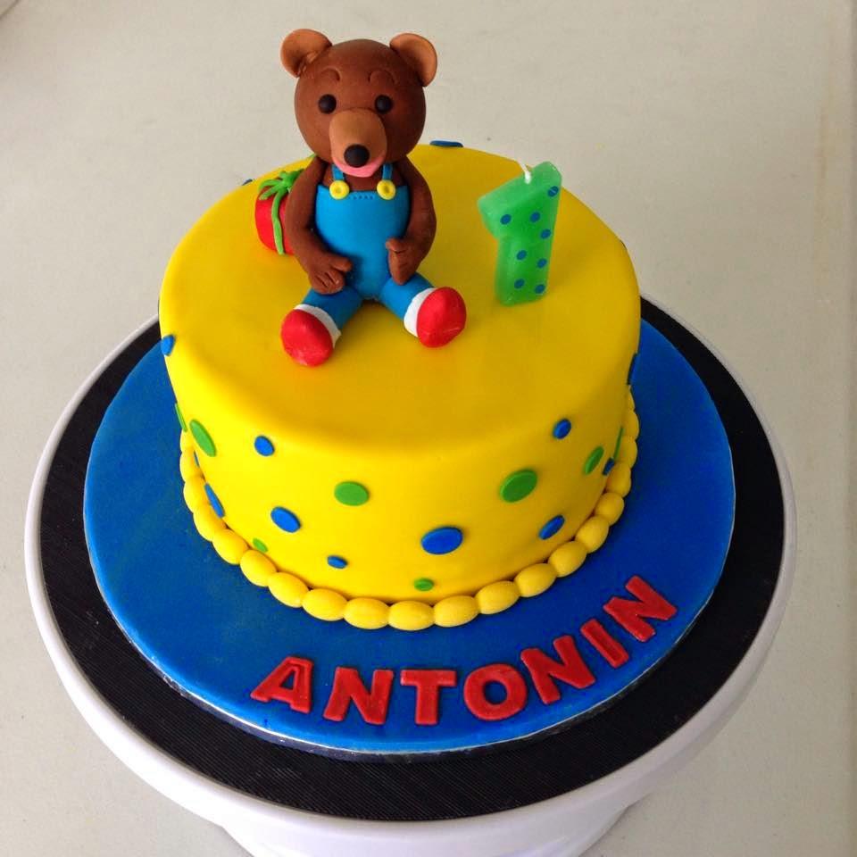 Kiwi Cakes A Special First Birthday For Antonin Poppy Bakes