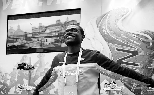 Fotografia di Rivaldo, prima della Maratona di Roma