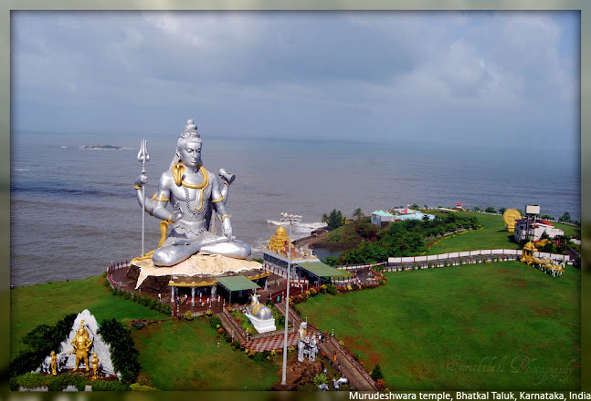 Murudeshwara Temple Bhatkal Taluk Karnataka India Beautiful Places Location Pictures Images