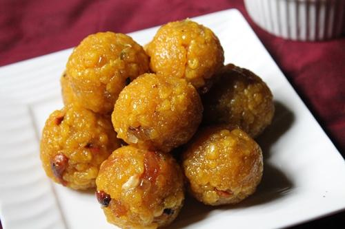 how to make boondi laddu