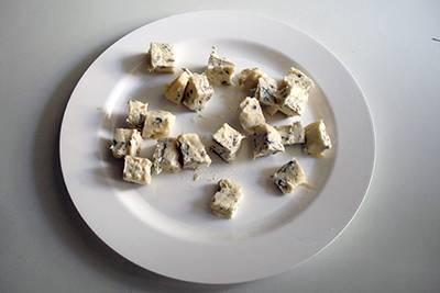 Pasta zucchine e gorgonzola 4