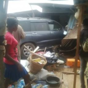 Photos: 10-year-old girl crushed to death in Obadore, Lagos