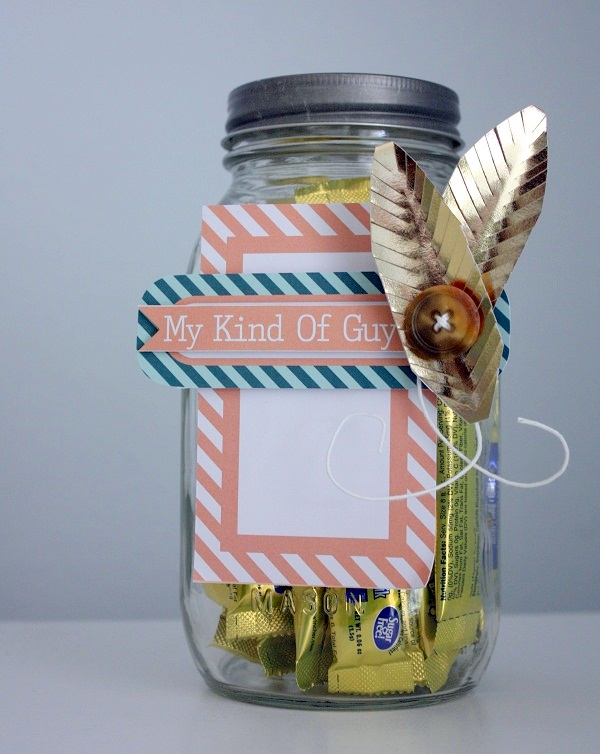 Shellye McDaniel Chickaniddy Foil Mason Jar
