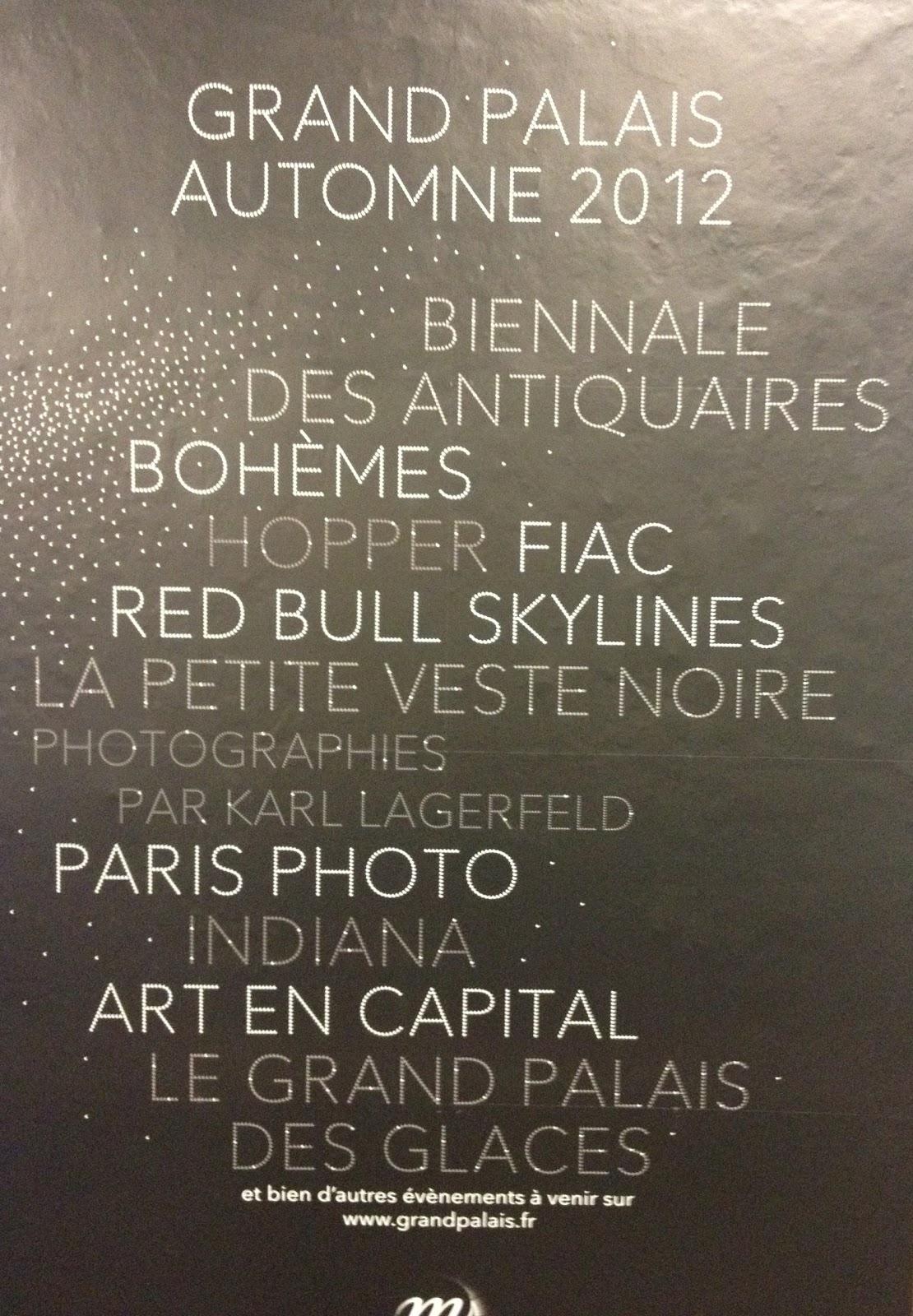 Au programme du Grand Palais, les foires et les marques. | Le Beau Vice