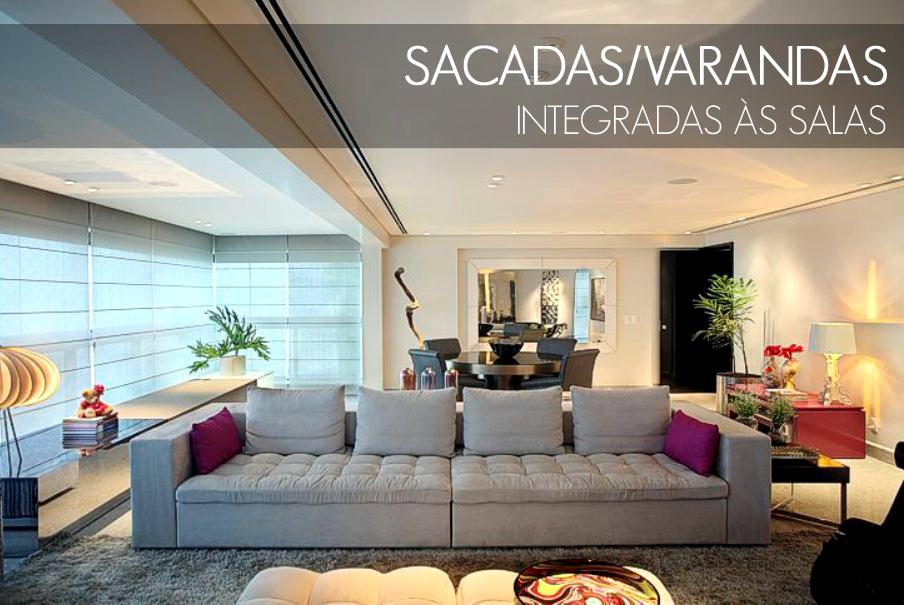 decoracao de sala dicas : decoracao de sala dicas: integradas às salas – veja dicas e inspirações para apartamento
