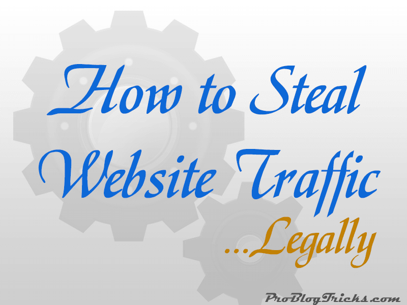 steal website traffic
