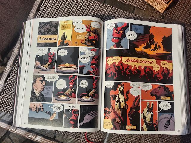 Hellboy pekelná knižnice lívance
