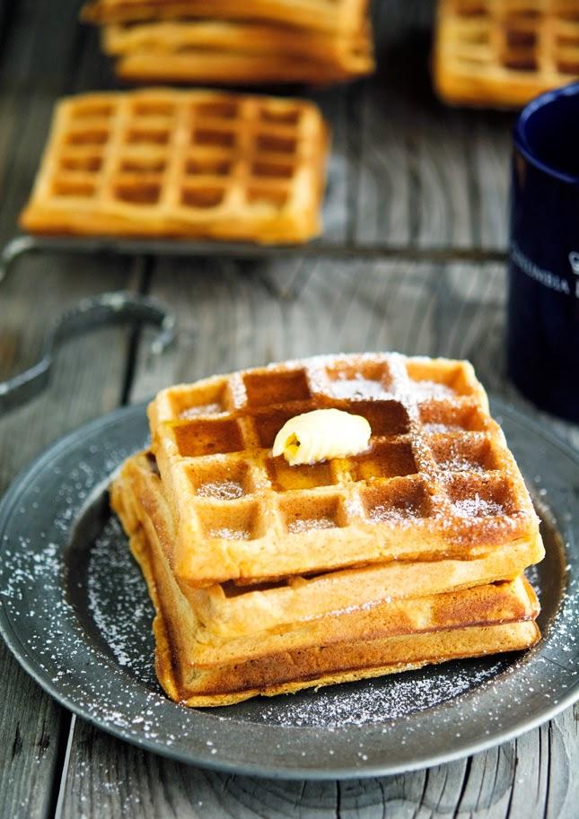... sweet potato pie waffles as their name suggest they re sweet potato