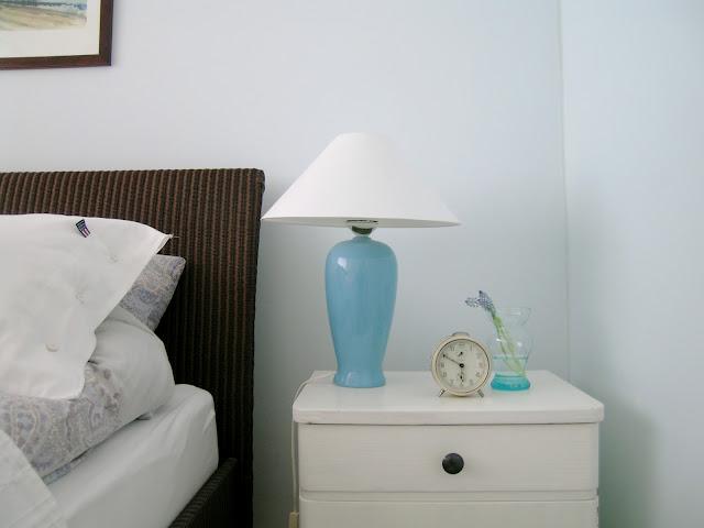 Flohmarktfee: Mein blaues Schlafzimmer