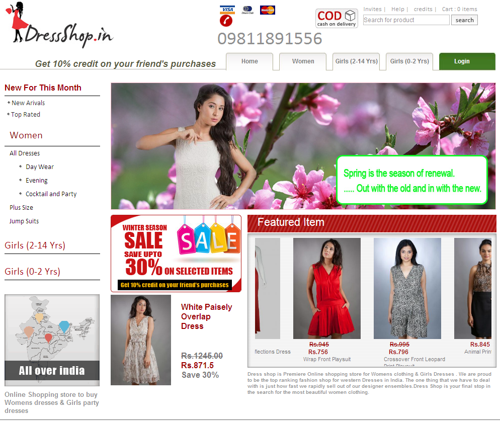Shop Online Clothes For Women