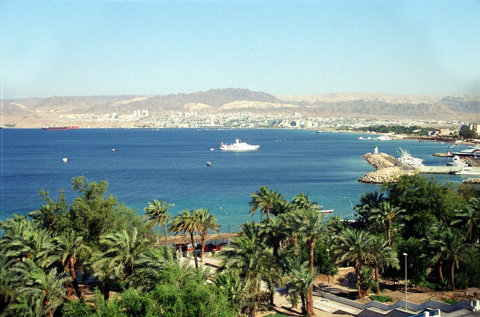 Jordánsko - Moře