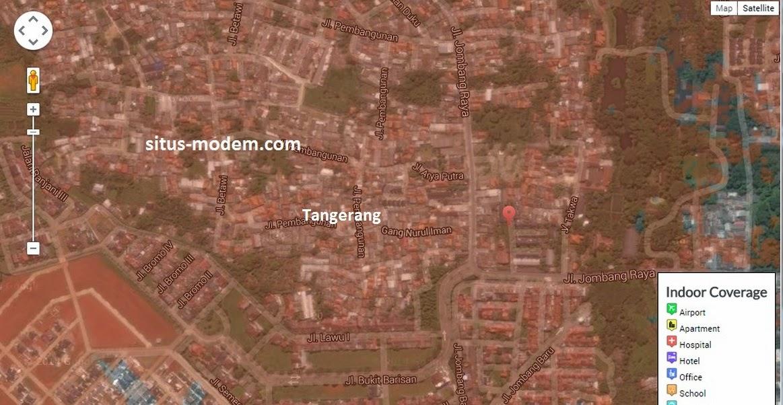 jangkauan sinyal bolt di Tangerang, Banten