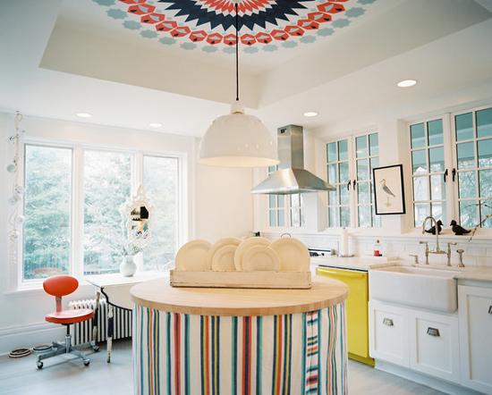 White Kitchen No Windows the peak of très chic: kitchen trend: no upper cabinets