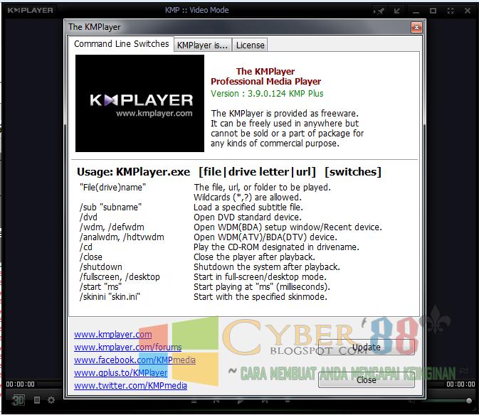 Download KMPlayer 3.9.0 124 Full Version Terbaru