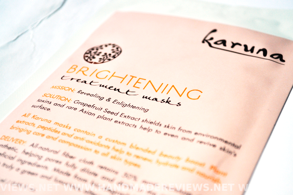 Karuna Brightening Treatment Mask Review