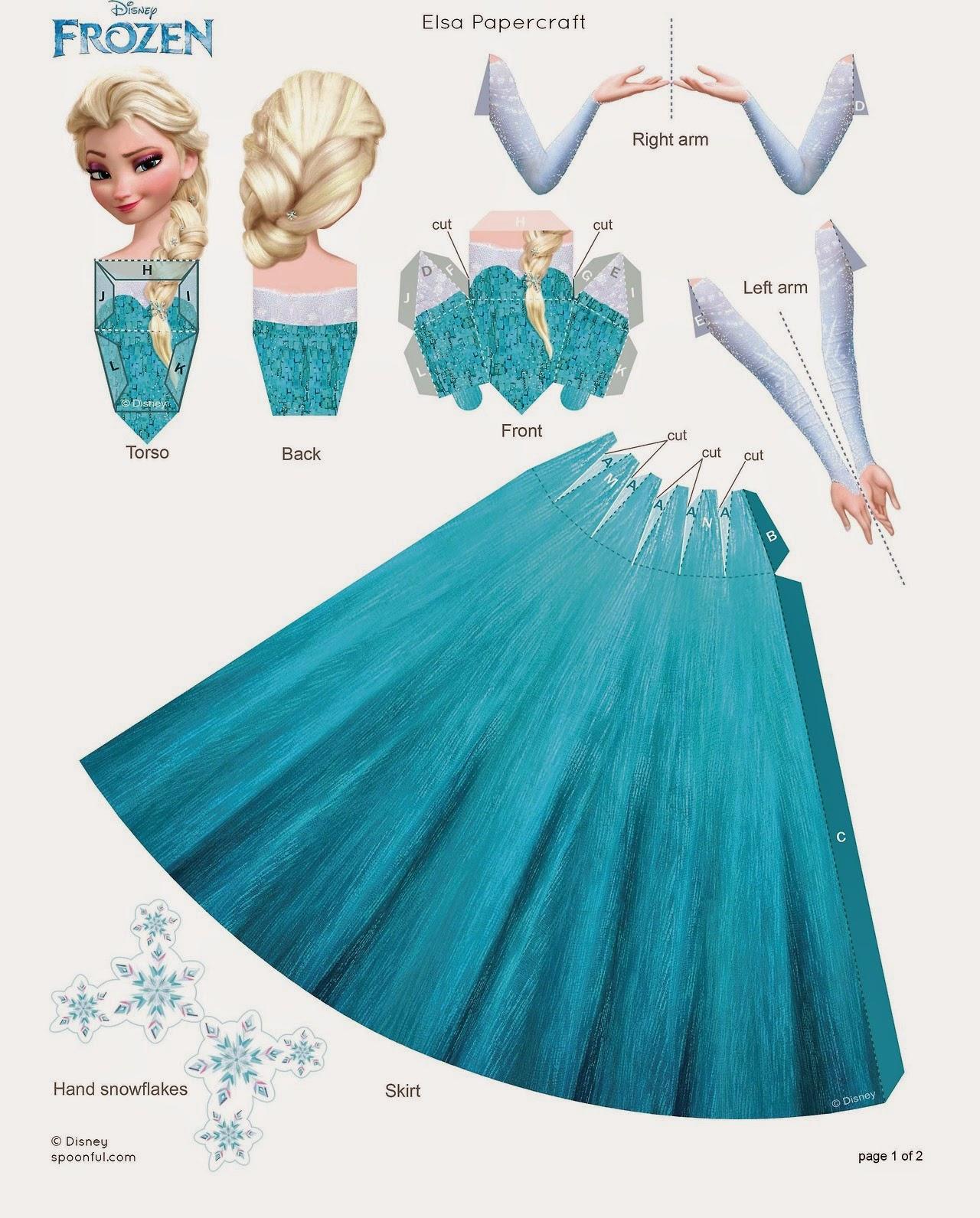 Jual Dress Anak Princess Elsa Frozen