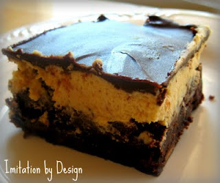 Imitation by Design: Peanut Butter Truffle Brownies