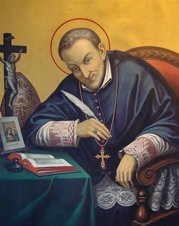 a biography of saint alphonsus Pope john paul ii on the feast of pentecost, may 19, 2002, canonized this  spanish follower of saint augustine alfonso de orozco was born october 17,  1500 in.