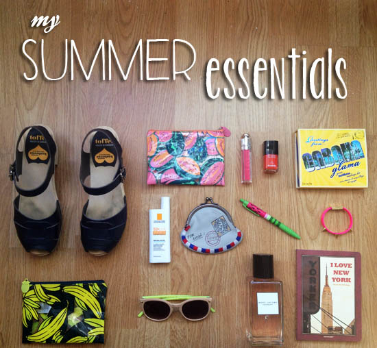 Mis imprescindibles de verano