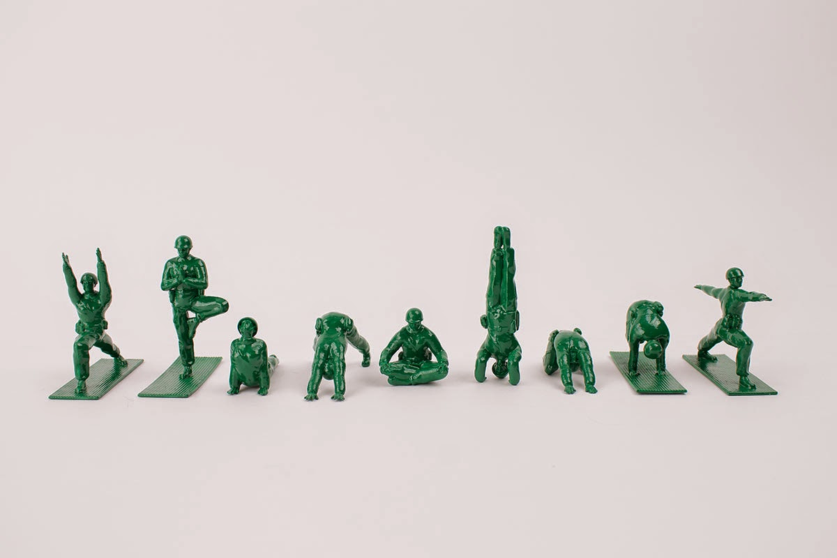 http://www.thisiscolossal.com/2014/10/yoga-joes-plastic-army-guys-practicing-yoga/