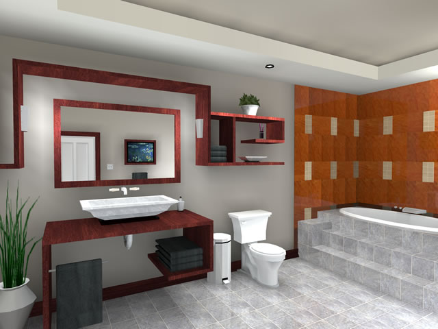 New home designs latest modern bathrooms designs ideas for Latest bathroom designs