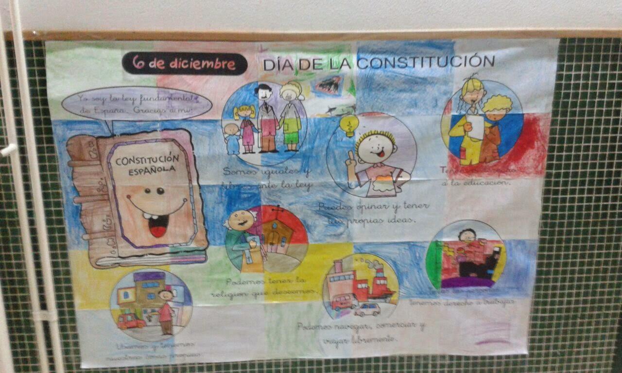 Poster Constitución Española