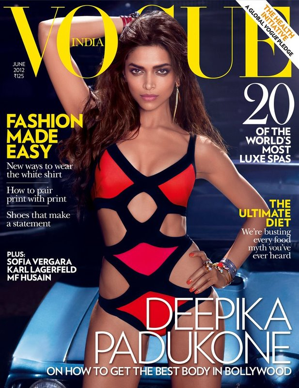 Vogue India June 2012: Deepika Padukone