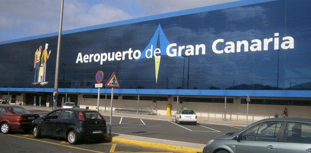 una avioneta se sale de pista aeropuerto gran canaria