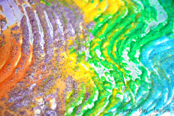 Kool Aid Sand Paint Learn Play Imagine