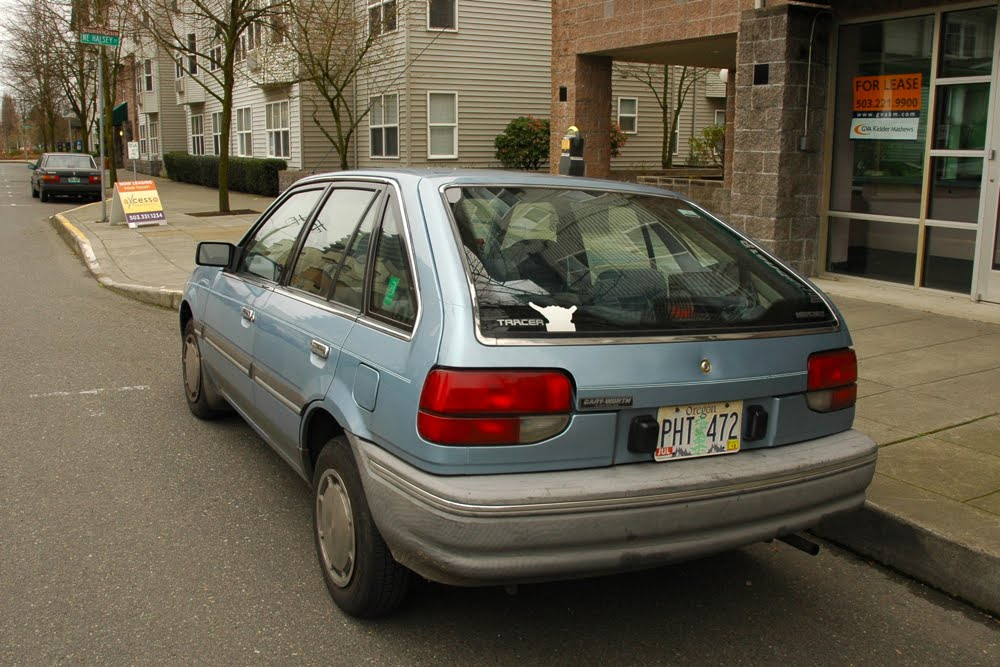 Mazda 3 5 Door >> OLD PARKED CARS.: 1987 Mercury Tracer.