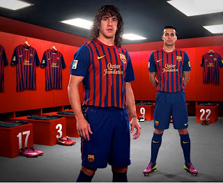Barcelona new jersey 2012