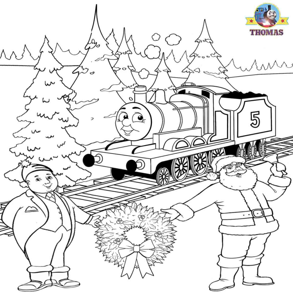 We let it snow kid free worksheets james train santa claus awesome coloring pages to print