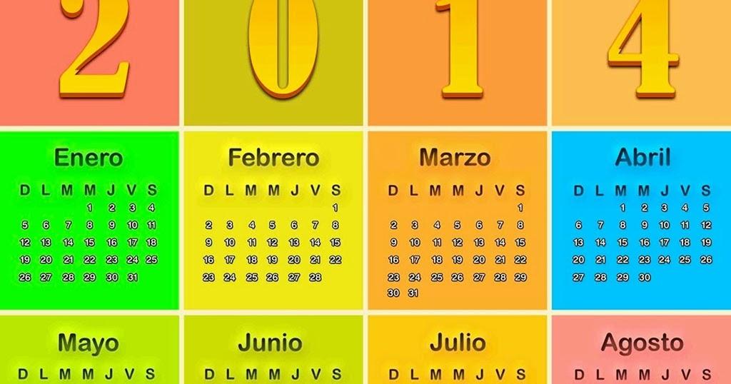 Calendario 2014 gimp download