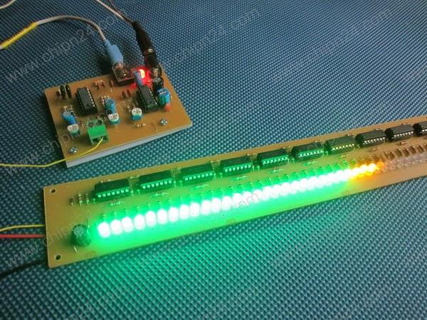 Mạch LED nháy theo nhạc