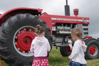 tractors and ice cream