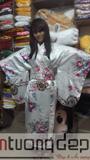 cho thuê kimono nhật giá rẻ