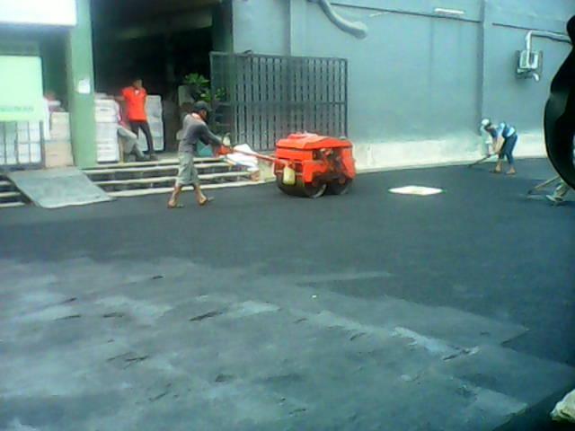 Perbaikan Lahan Parkir Kaspea Bangunan Bekasi