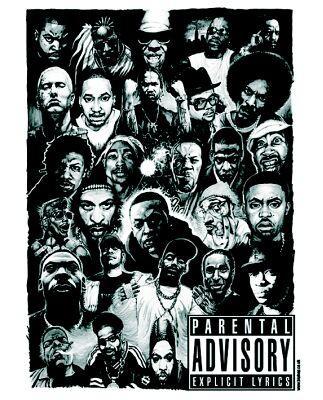 En este genero destacan bastantes raperos que han marcado historia en    West Coast Rappers Poster