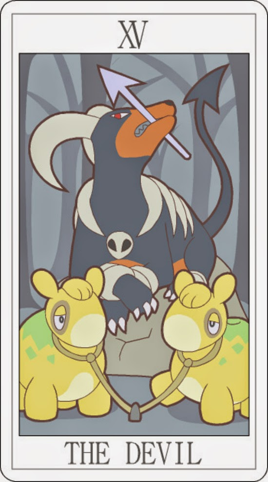 Pokemon Tarot - The Devil
