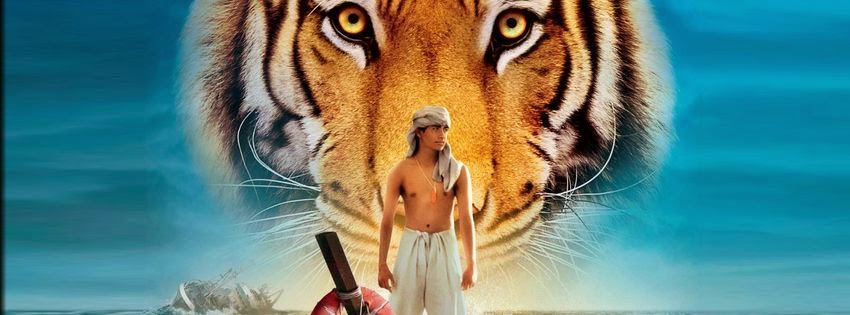Couverture facebook de film life of pi