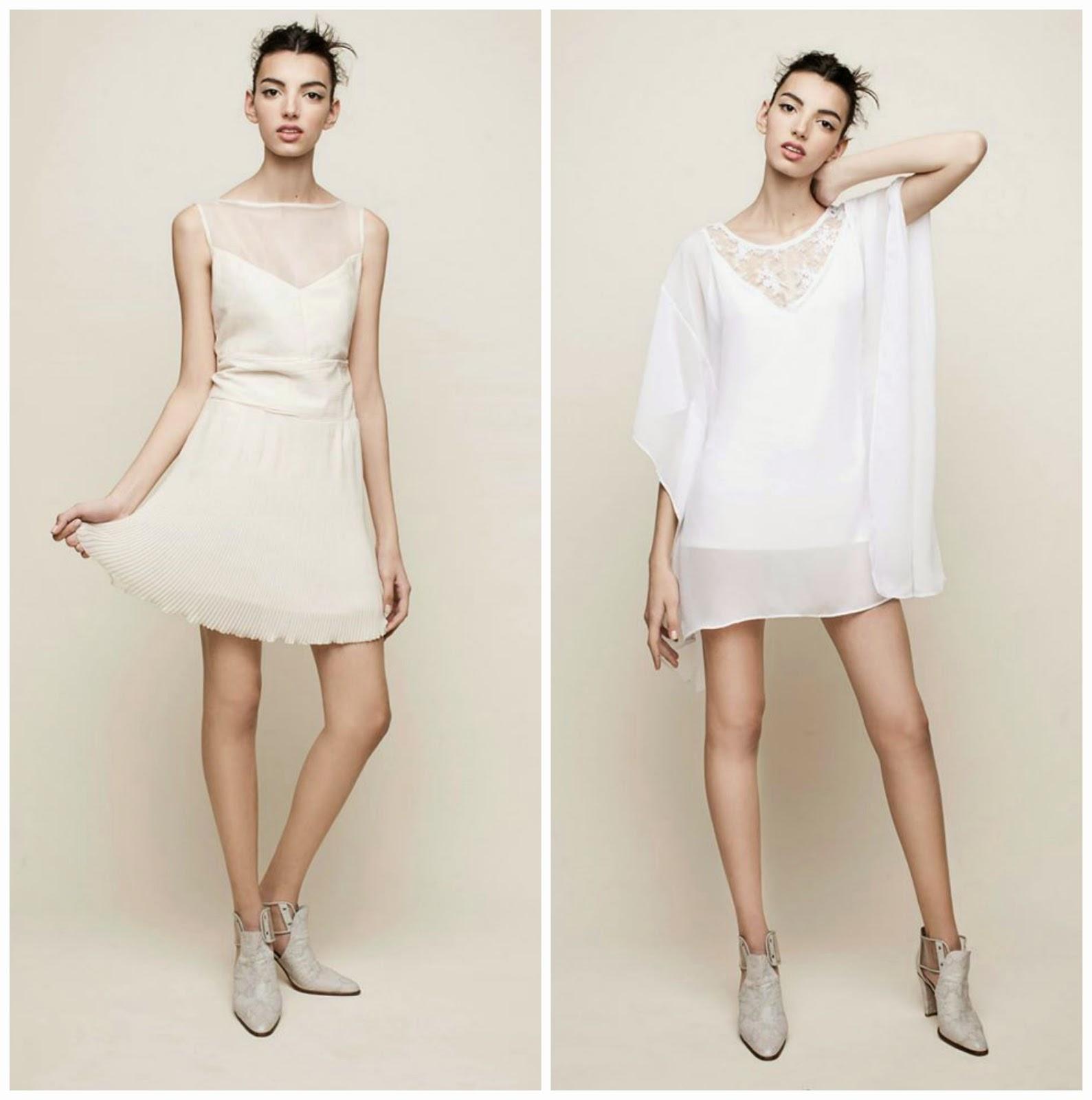 Vestidos de noche para mujeres blancas