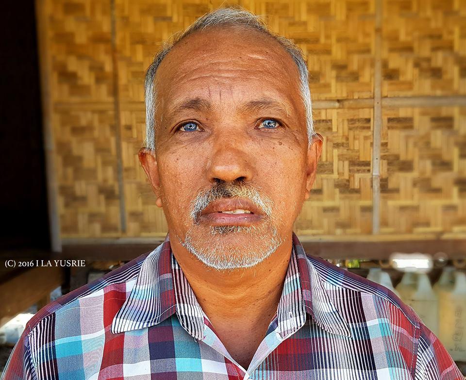 """Lelaki """"Mata Biru"""" Kaimbulawa"""