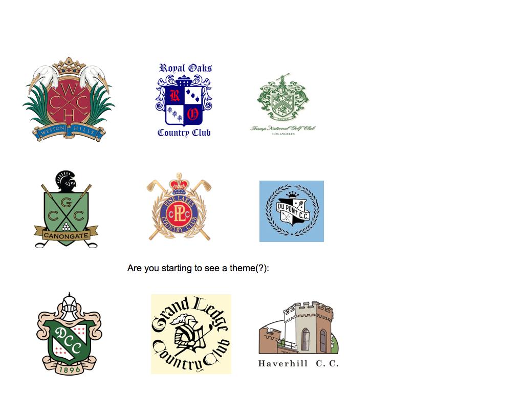 Golf Club Logo Golf Club Logos