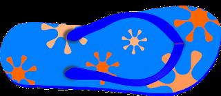 Infradito mare piscina