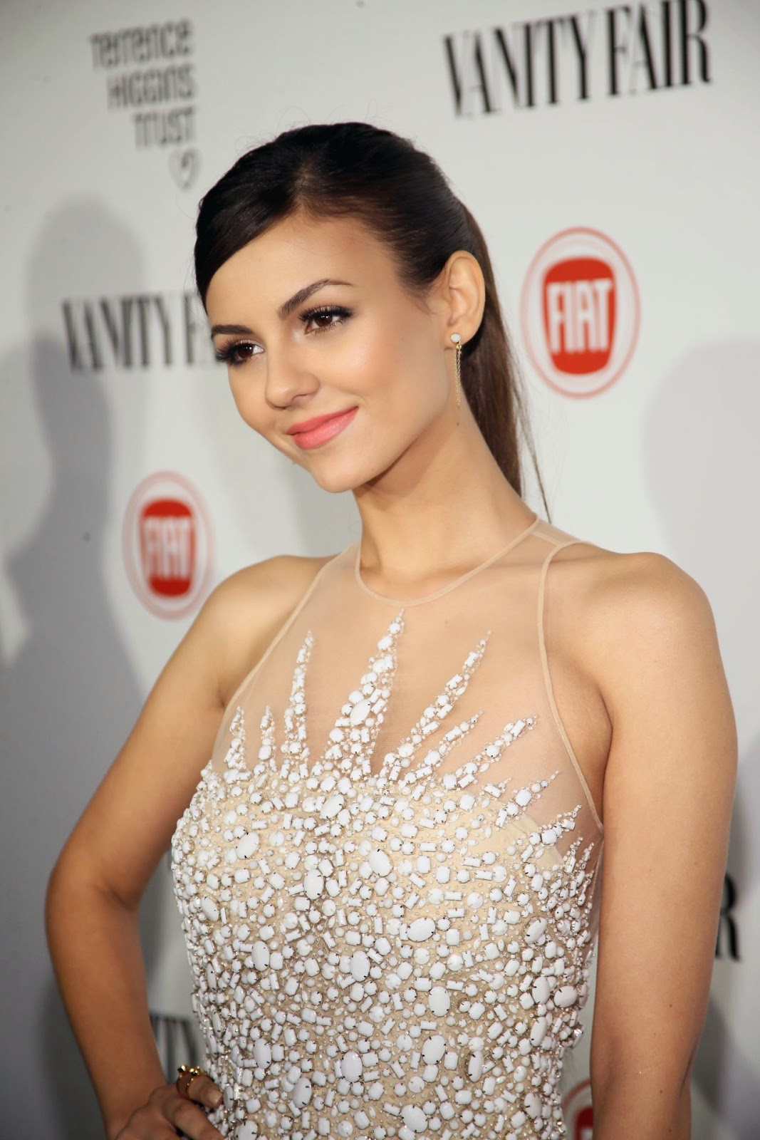 Victoria Justice – Vanity Fair and FIAT celebration of Young Hollywood in Los Angeles, February 2015
