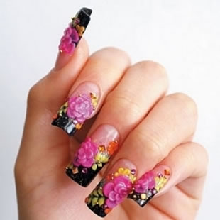 acrylic nail art  mix magazine