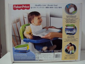 Kelebihan Fisher-Price - Healthy Care Booster Seat :