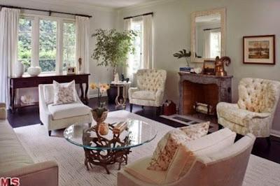 una de las salas de la casa de Miranda Cosgrove
